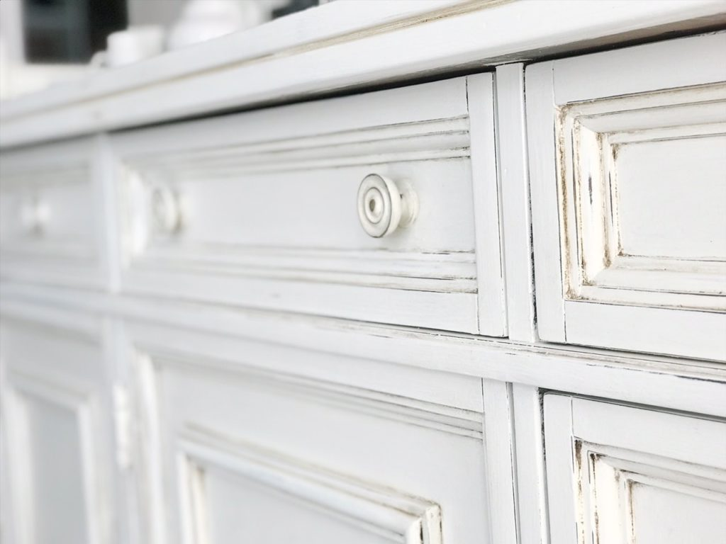Dining Room Hutch Makeover With Chalk Paint