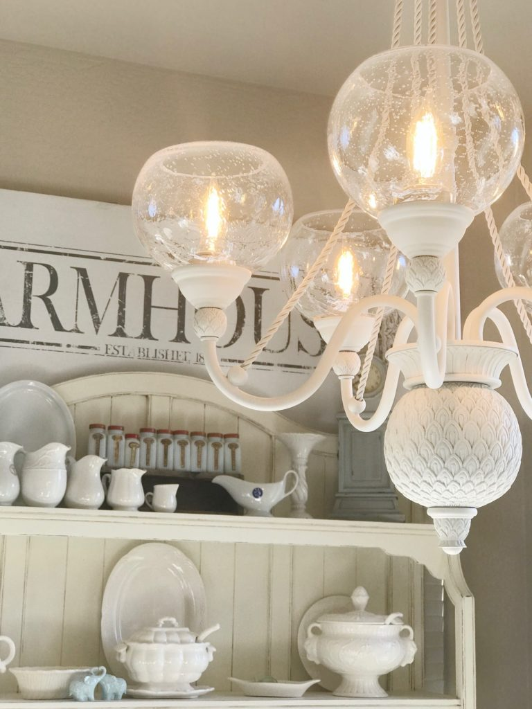 How To Easily Makeover a Chandelier from Boring to Beautiful
