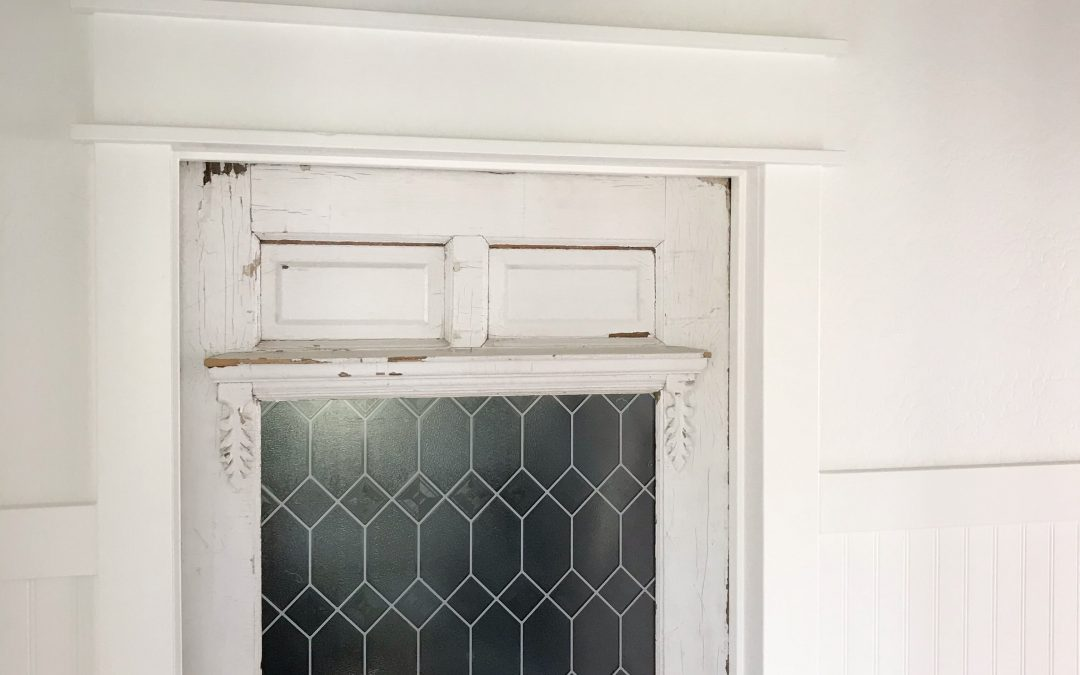 How to Trim Your Farmhouse Door