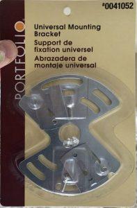 universal mounting bracket for lighting