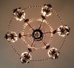 chandelier to replace recessed lighting