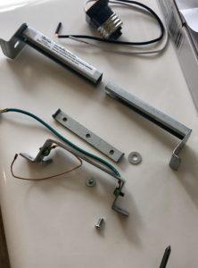 fixture mounting bar