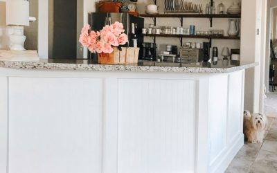 Kitchen Peninsula from Builder-Grade to Custom Made