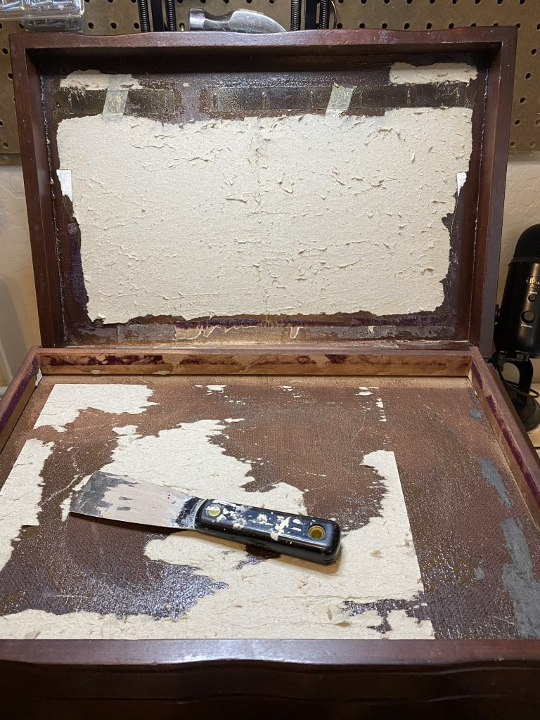 Jewelry Box Makeover with Amy Howard Paint and Cracked Patina