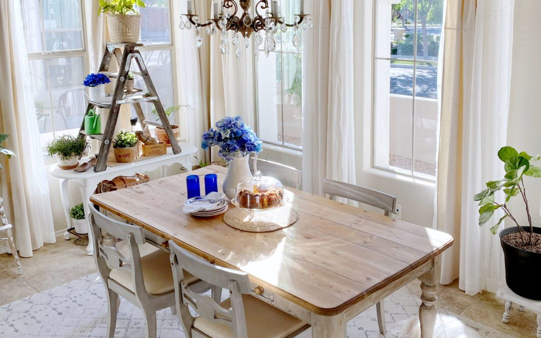 Simple Table Makeover You Can Easily Do in Less Than 1 Hour To Transform Your Furniture