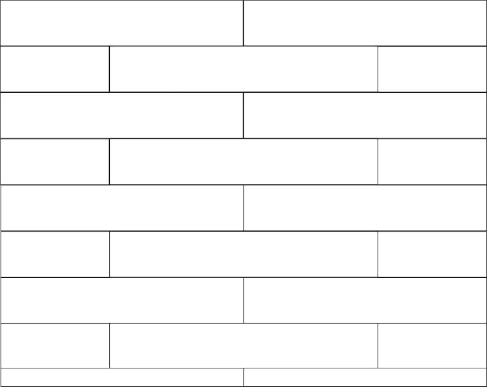 computer drawing of pattern for laying out the shiplap on the wall