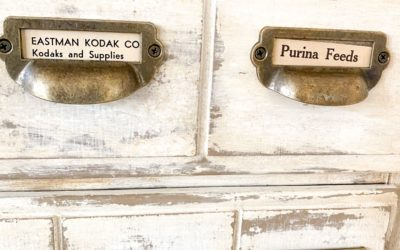 Vintage Apothecary Cabinet from an Outdated 3-drawer Chest